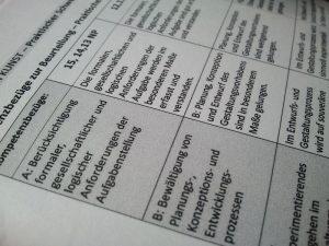 tabelle kompetenzbezüge