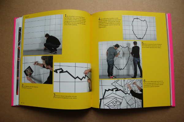 Blick ins Buch: Projekte: Wandbild in Schritt-für-Schritt-Anleitung