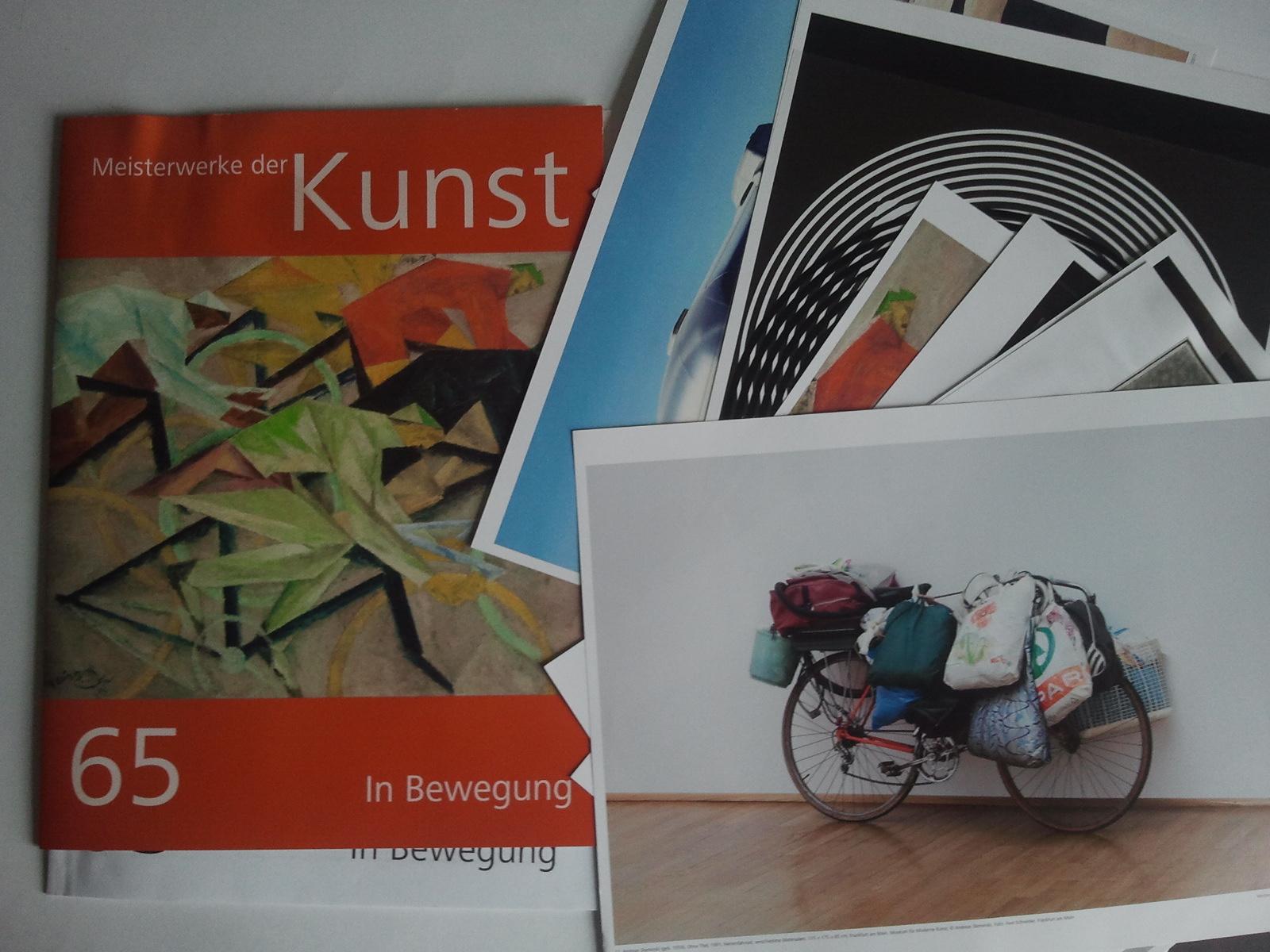 """Kunstmappe """"Meisterwerke der Kunst"""""""