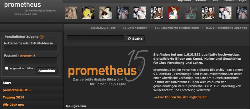 Bilddatenbank Prometheus